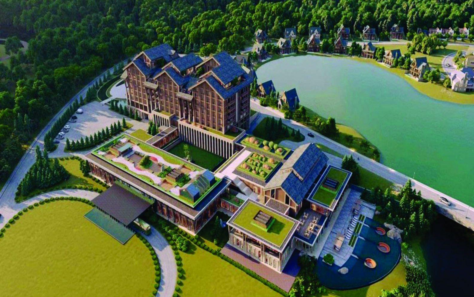 Biệt thự sân Golf Resort Valley Thanh Lanh - Vĩnh Phúc