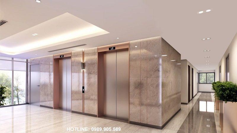 Sảnh thang máy Grand Plaza