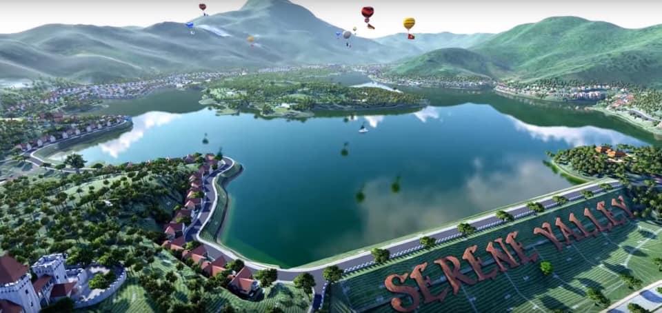 Phối cảnh Resort Serena Valley Thanh Lanh Vĩnh Phúc