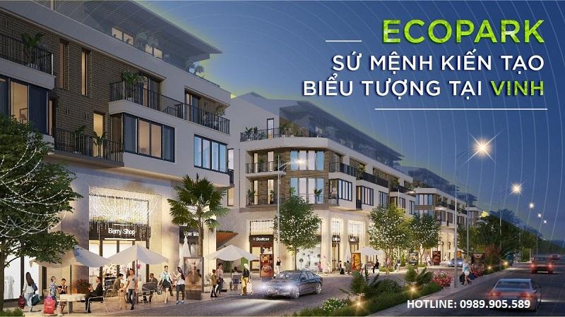 Shophouse Eco Central Park Vinh