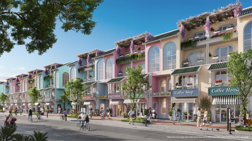 shophouse Parasol KN Paradise