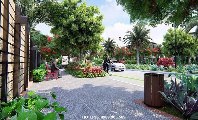 Tiện ích 2 đất nền Diamond City Nghiêm Xá - Yên Phong - Bắc Ninh