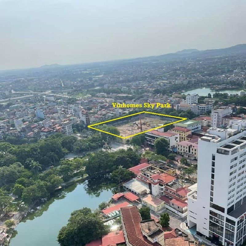 Tiến độ thực tế Vinhomes Sky Park Bắc Giang
