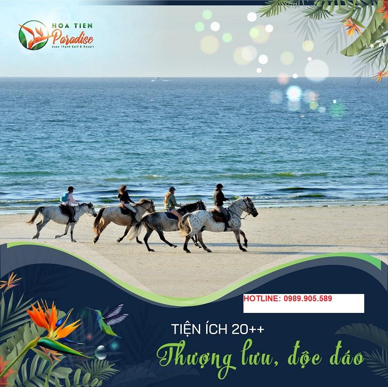 câu lạc bộ cưỡi ngựa thể thao tại Hoa Tiên Paradise