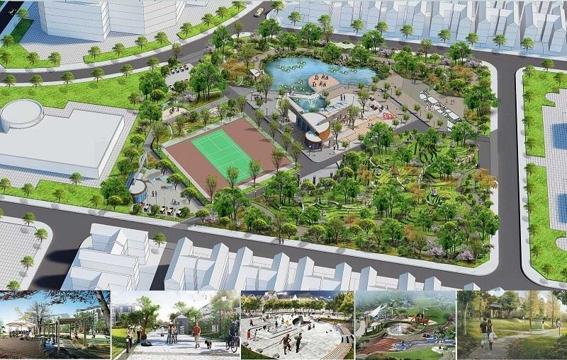 Tiện ích 1 đất nền Diamond City Nghiêm Xá - Yên Phong - Bắc Ninh
