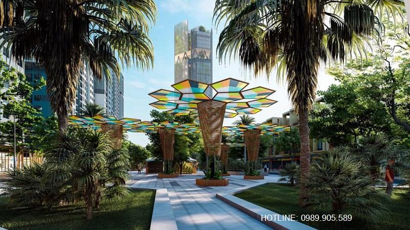 Phố đi bộ dự án Stella City Quảng Thành - Thanh Hóa