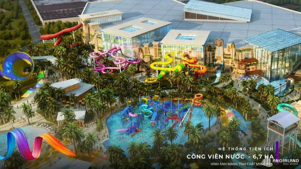 Tiện ích công viên theo nước dự án KN Paradise Khánh Hòa
