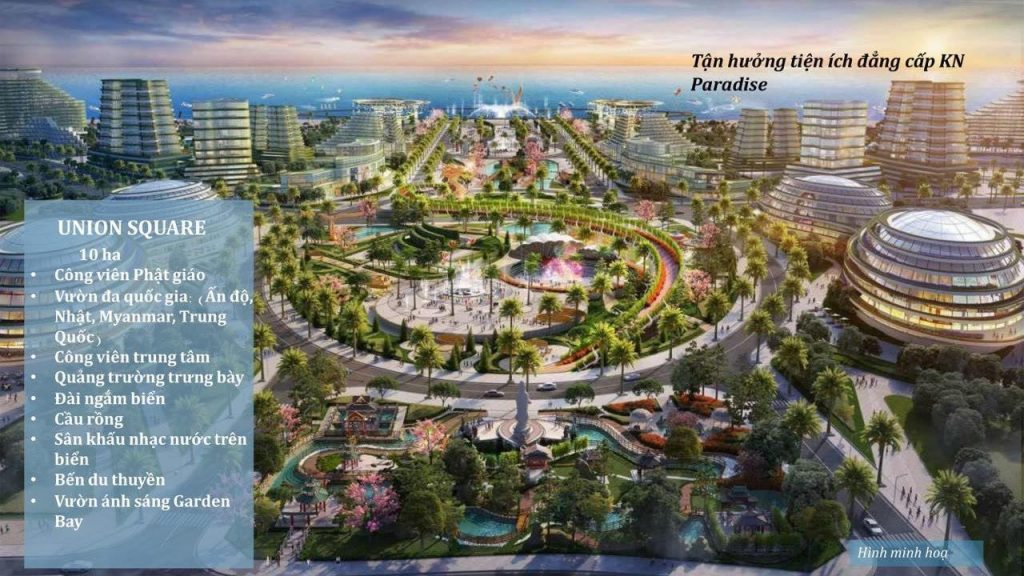 Tiện ích đẳng cấp Khu đô thị KN Paradise Khánh Hòa