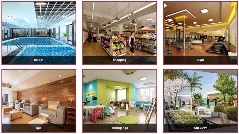 Tiện ích dự án Orchard Park 6-8 Chùa Bộc