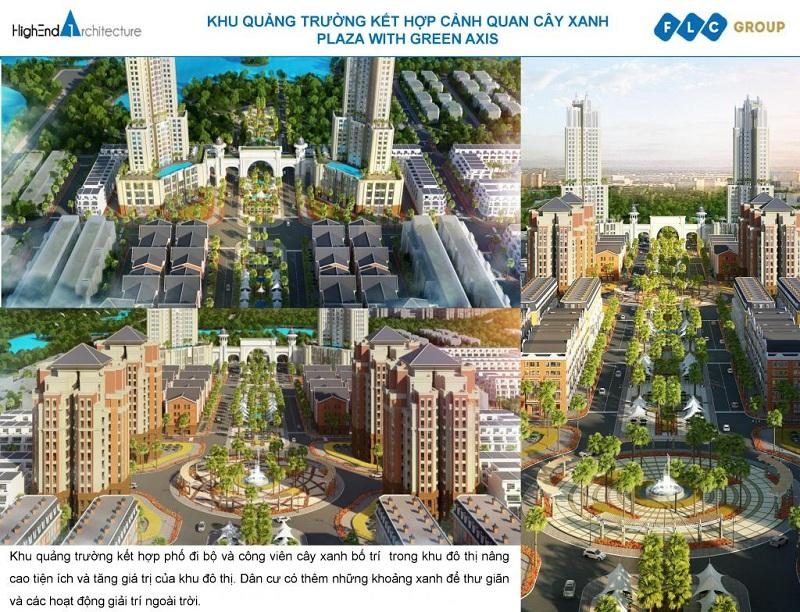 Quảng trường FLC Square World Bắc Giang