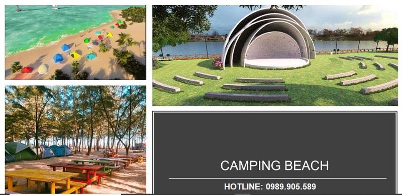 Dịch vụ cắm trại Camping Beach Hoa Tiên Paradise Xuân Thành