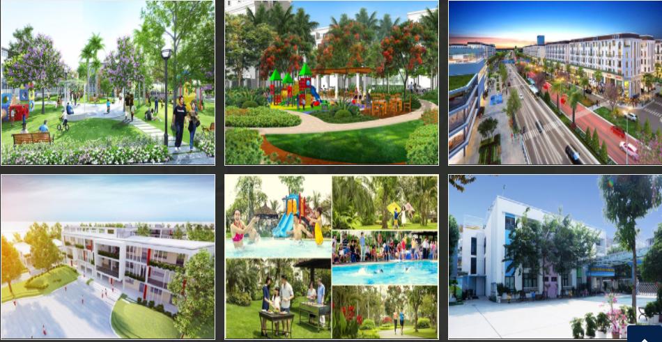 Tiện ích khu đô thị mới phía đông Chí Linh - Hải Dương