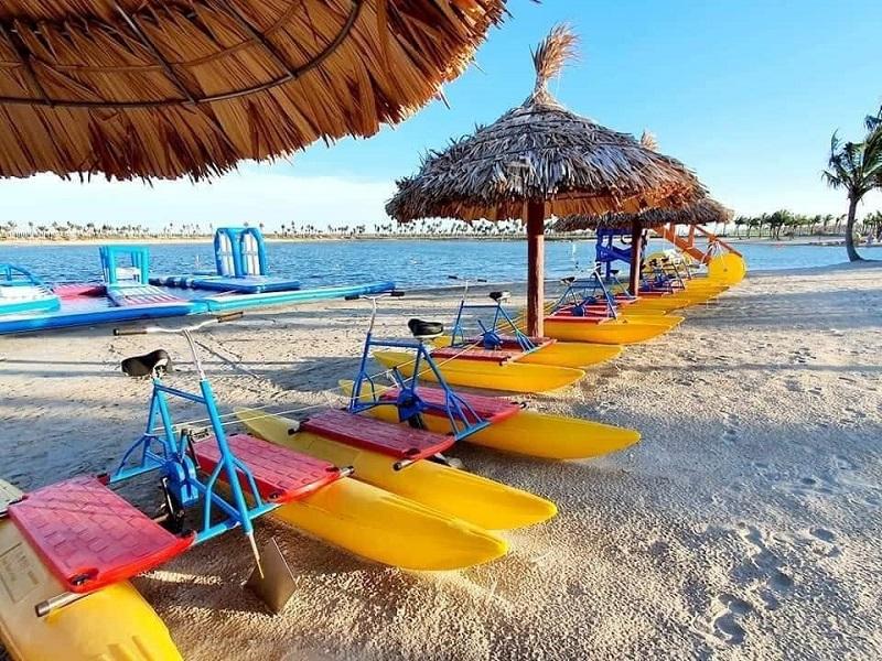 Chèo thuyền Kayak khu du lịch quốc tế Đồi Rồng