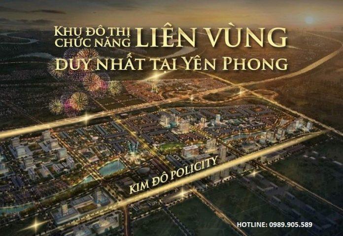 tổng quan khu đô thị Kim Đô Policity Yên Phong