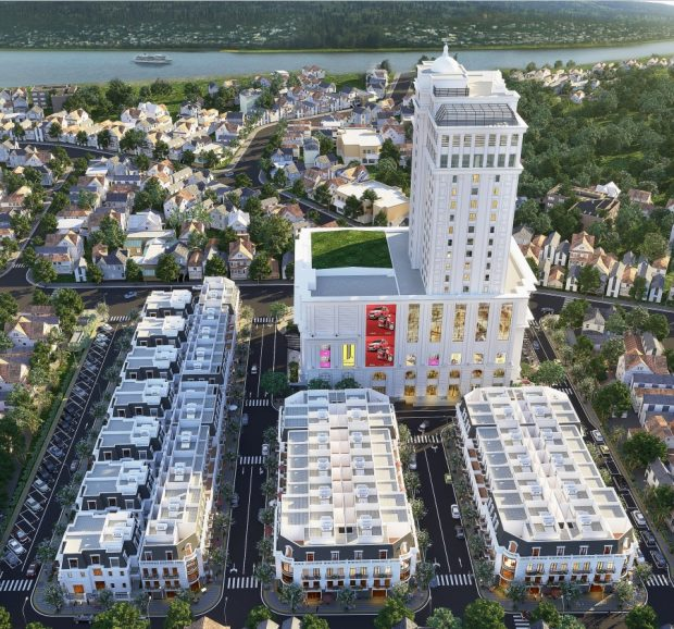 Phối cảnh chung cư Vinhomes Sky Park Bắc Giang