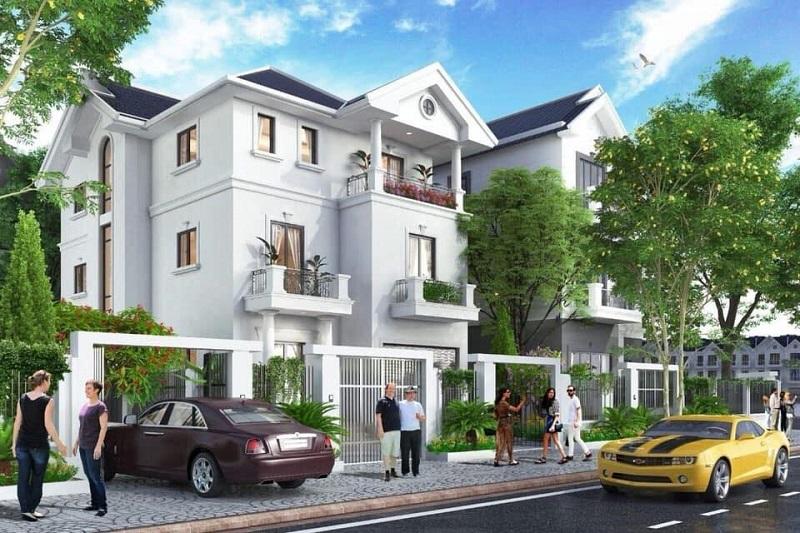 Biệt thự Nam Vĩnh Yên - Times Garden