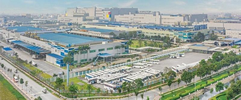 KCN Samsung đối diện dự án Khu nhà ở Long Châu - Mẫn Xá - Yên Phong - Bắc Ninh