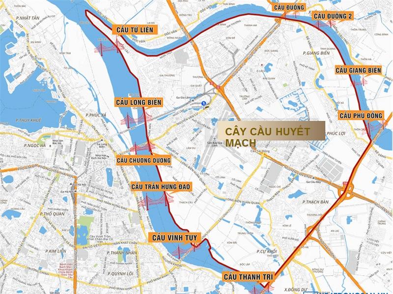 Hạ tầng giao thông qua dự án Hà Nội Garden city - Long Biên