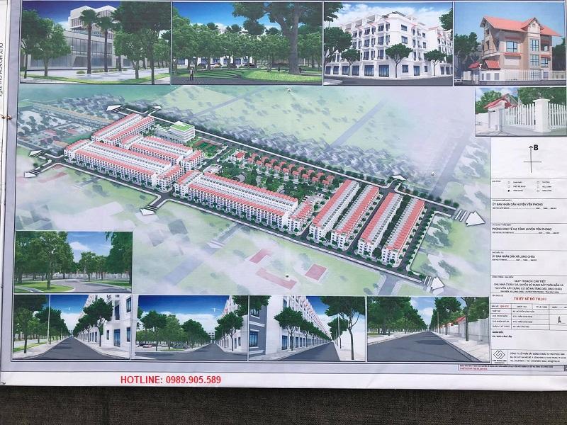 Phối cảnh 2 dự án Long Châu Star - Mẫn Xá - Yên Phong - Bắc Ninh