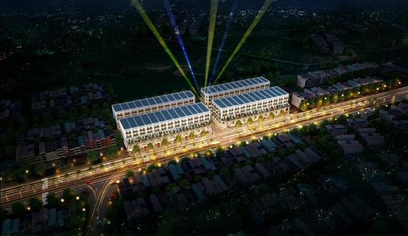 Phối cảnh 2 dự án Kinh Bắc Golden Gate Từ Sơn - Bắc Ninh