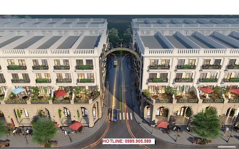 Phối cảnh 4 dự án Kinh Bắc Golden Gate Từ Sơn - Bắc Ninh