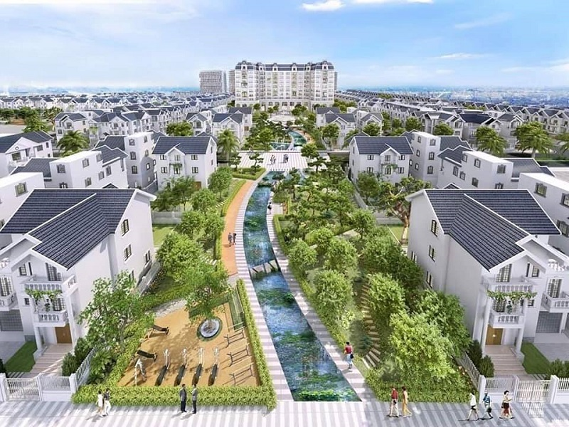 Phối cảnh 3 Khu đô thị Times Garden Vĩnh Yên - Vĩnh Phúc