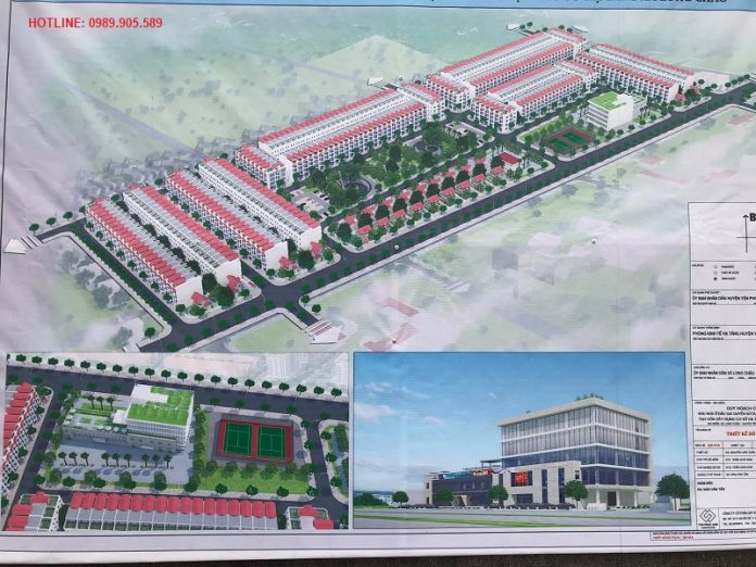 Phối cảnh dự án Long Châu Star Bắc Ninh