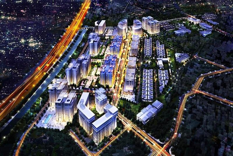 Phối cảnh dự án Hà Nội Garden City - Long Biên