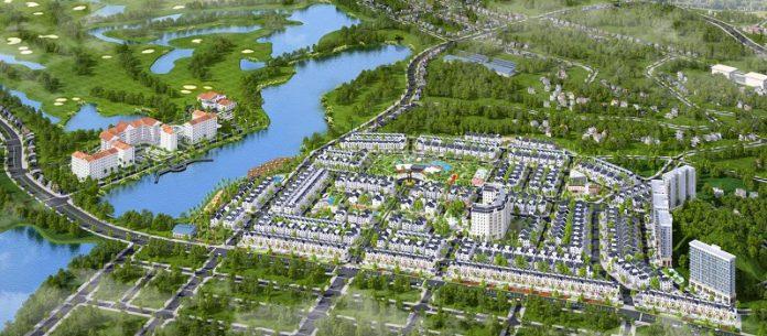 Phối cảnh khu đô thị Times Garden Vĩnh Yên