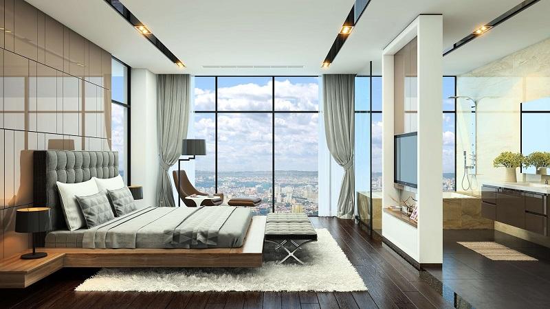 Ảnh mẫu 2 căn hộ Grandeur Palace Văn Phú Invest