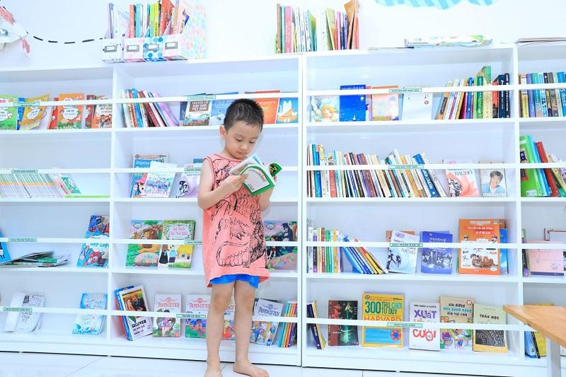 thư viện sách tại Hà Nội Garden City - Long Biên