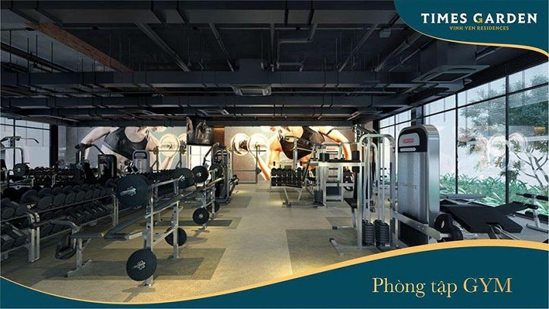 Phòng Gym KĐT Nam Vĩnh Yên - Vĩnh Phúc