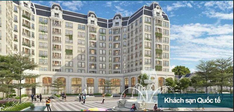 Khách sạn quốc tế KĐT Nam Vĩnh Yên - Vĩnh Phúc