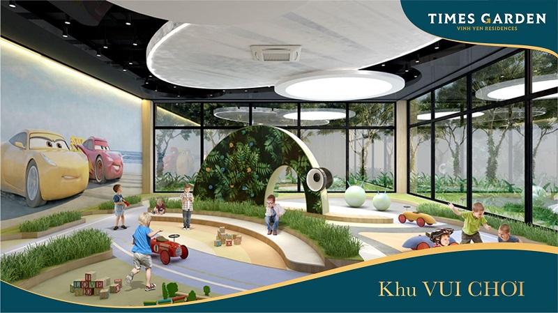 Khu vui chơi trẻ em KĐT Times Garden Nam Vĩnh Yên - Vĩnh Phúc