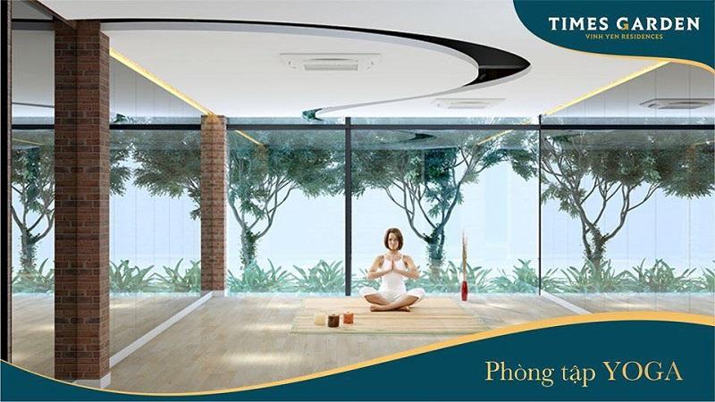 Phòng yoga KĐT Nam Vĩnh Yên - Vĩnh Phúc