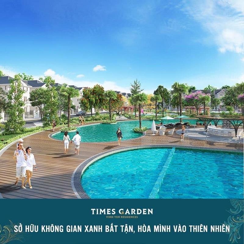 Không gian xanh tại khu đô thị Nam Vĩnh Yên