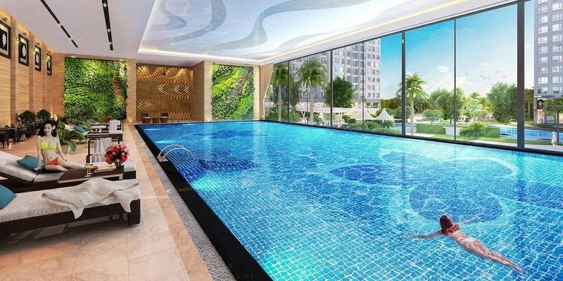 Tiện ích bể bơi 4 mùa Grandeur Palace Phạm Hùng