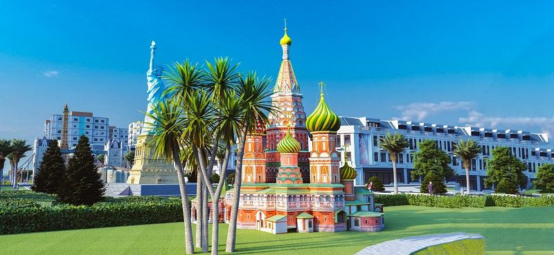 Nhà thờ Basil Nga tại KĐT Việt Hàn Thái Nguyên