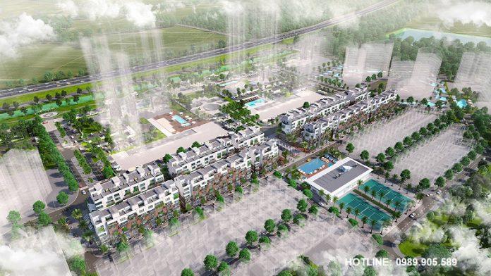 Tổng quan 88 Central Hà Nội Garden City - Long Biên